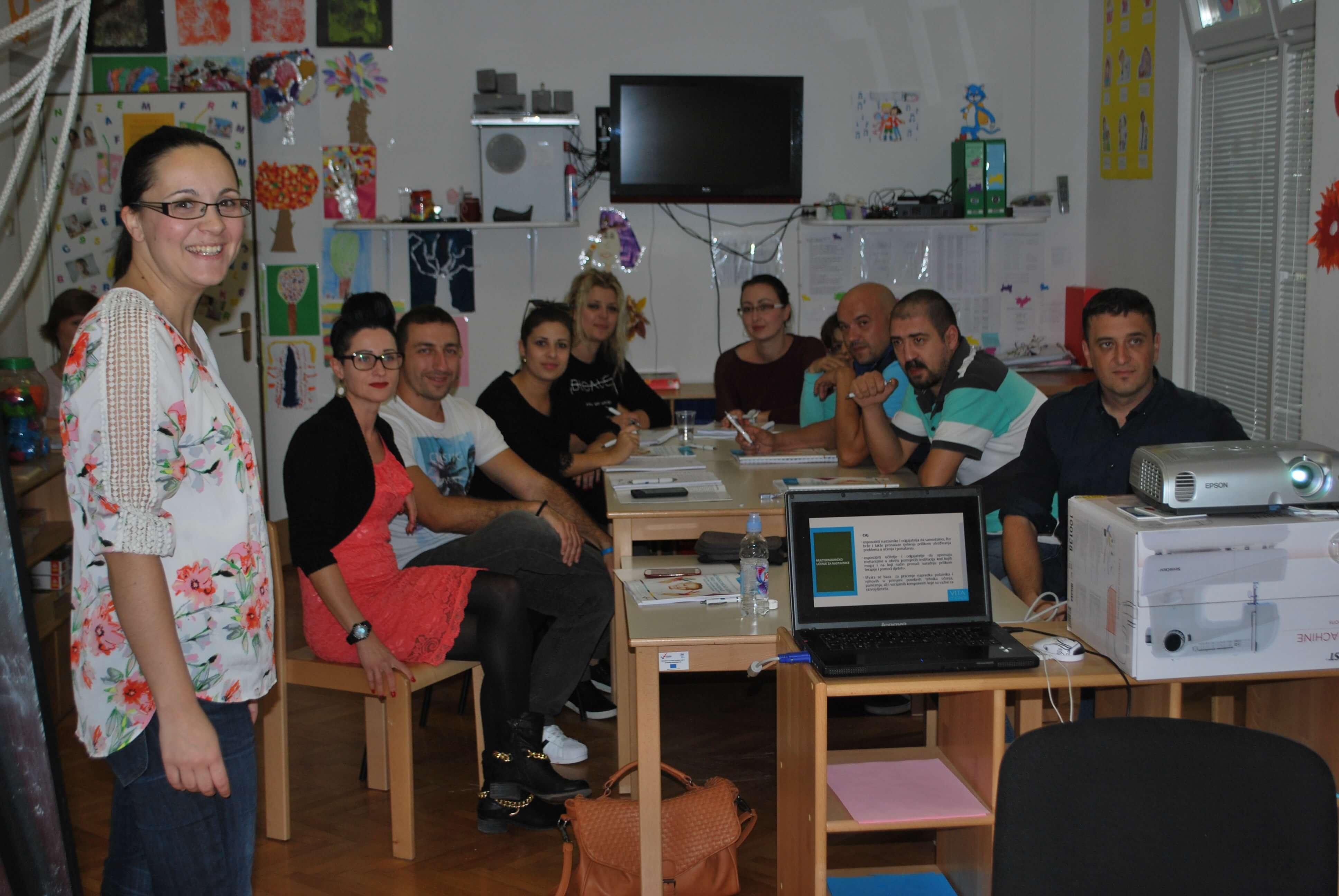 Edukacija djelatnika TOMS-a zaposlenih u Dječijem centru1